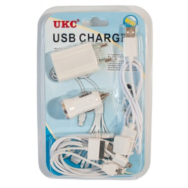 Adapter Mobi charger MX-C12 12 12in1 Long