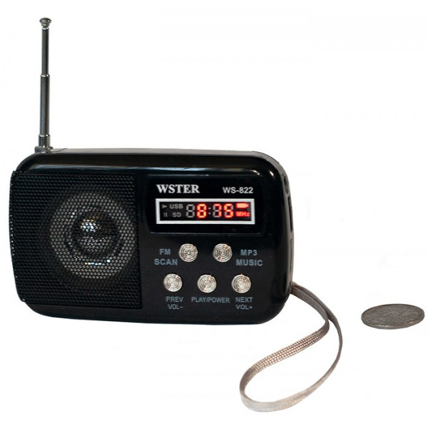 Portable mp3 mobile speaker WSTER WS 822